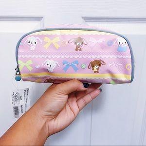 NWT 🐰🍬 Sugar Bunnies Pencil/Cosmetic Bag